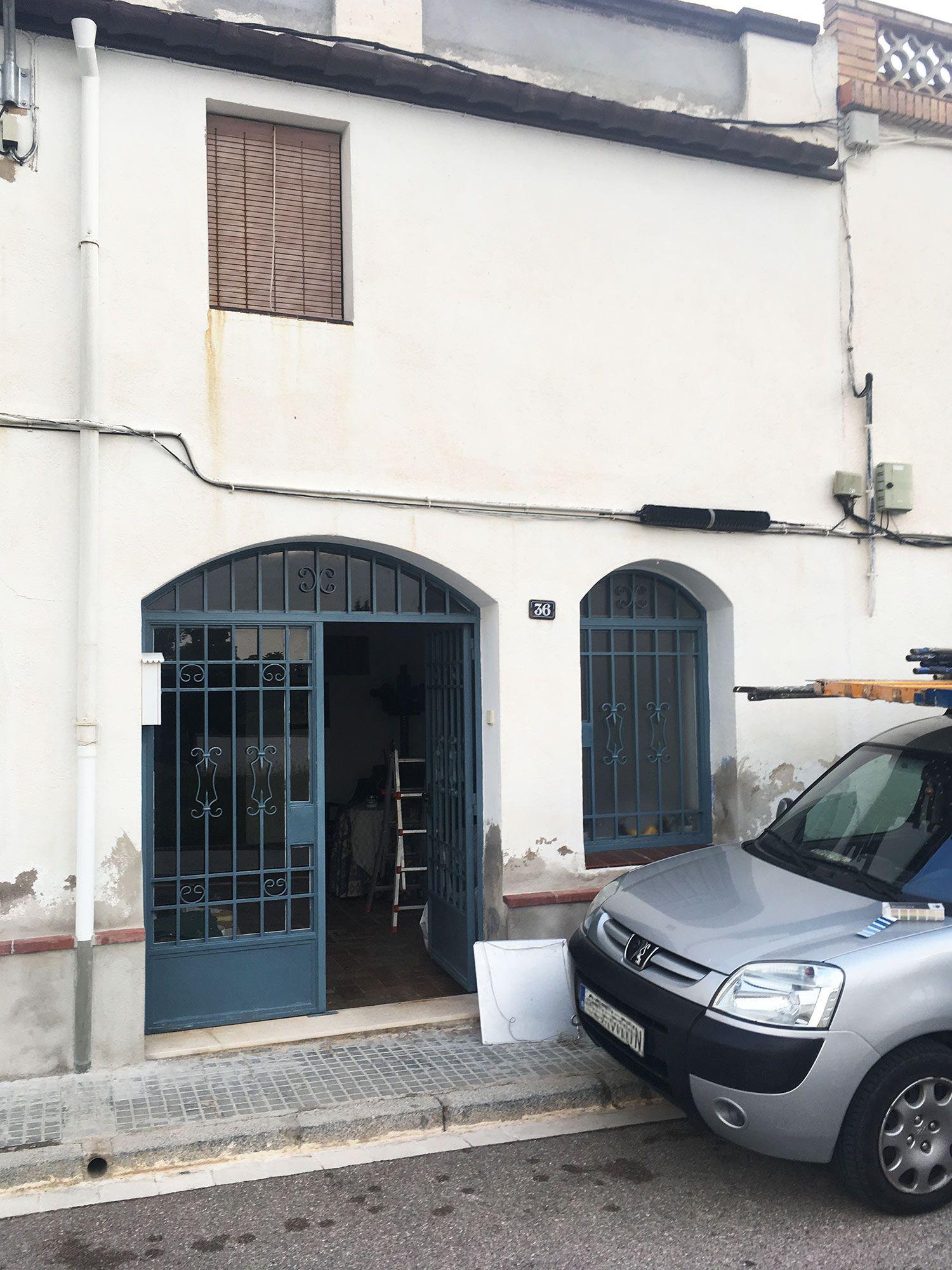 reparación de fachada de casa