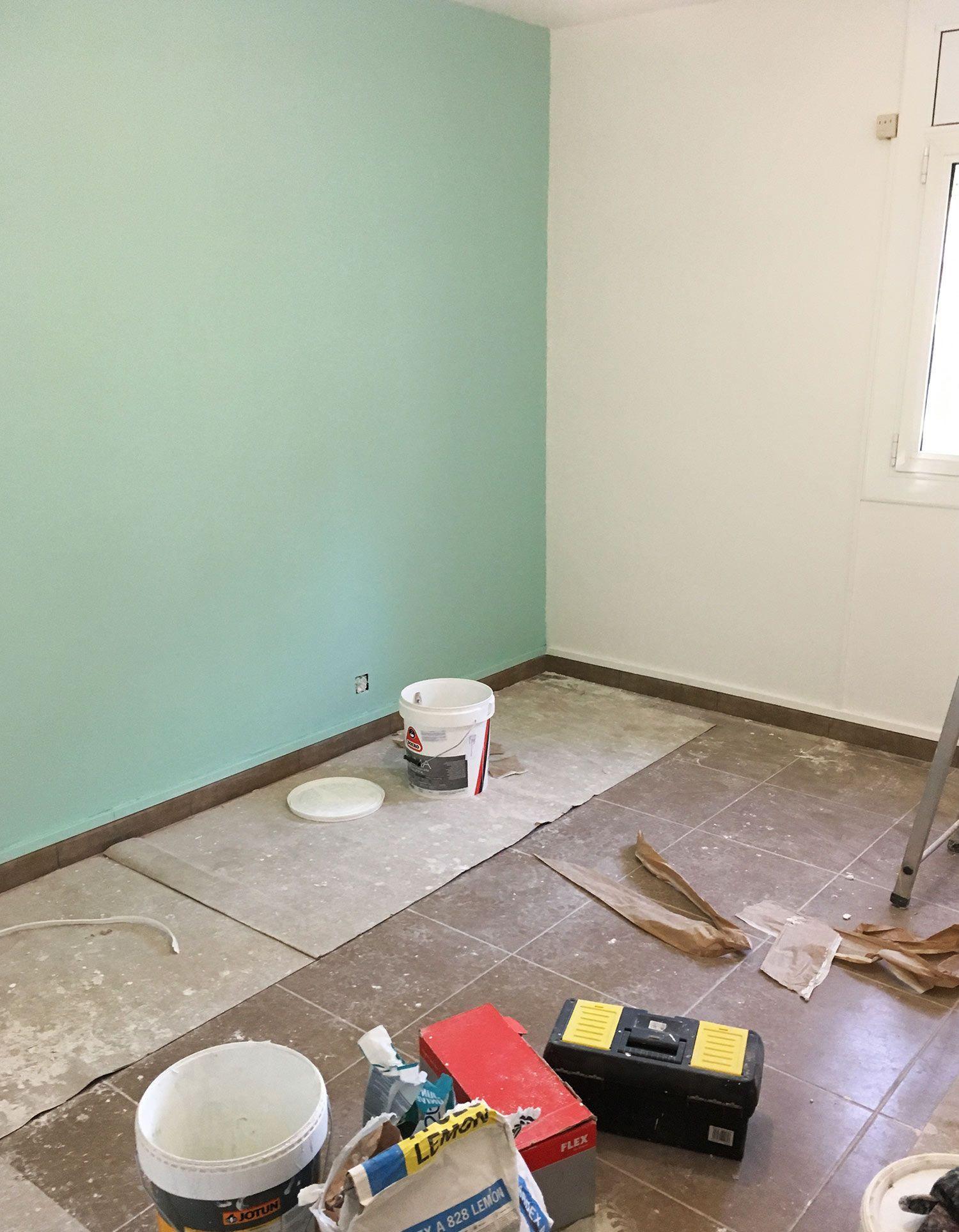 pintura y eliminación de estocado